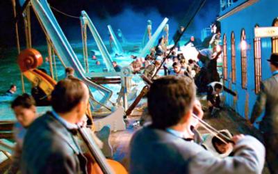 los músicos del titanic